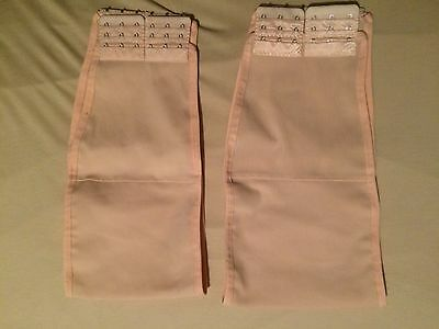 2 Nude Strapless Chest Binders Size Small