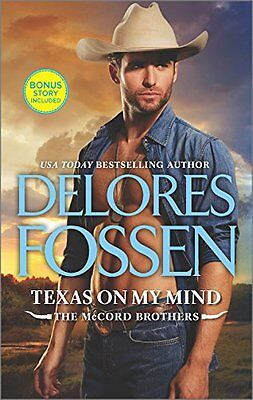 Texas on My Mind: A Western Romance (The McCord Brothers) by Delores Fossen