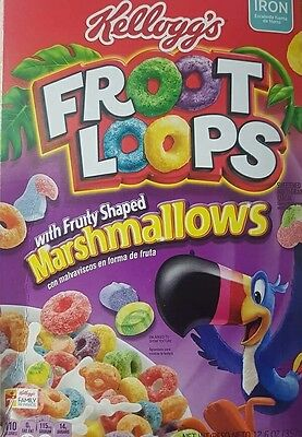 1x Kellogg's Fruit Loops Marshmallow Cereal 357g