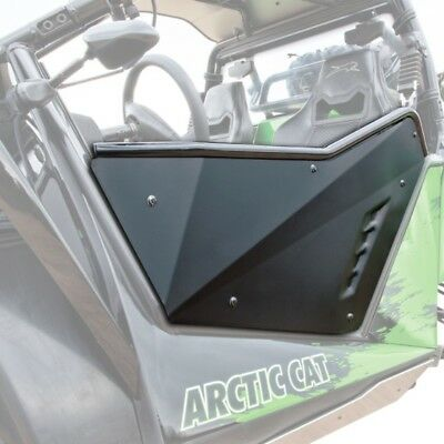 Textron/Arctic Cat Aluminum Doors Kit Matte Black 2012-2018 Wildcat X 4 1436-892