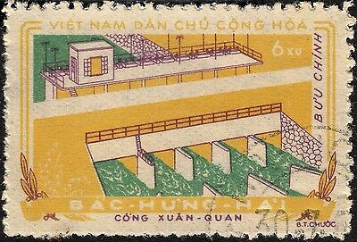 Vietnam (North) 1959 6x Bac Hung Hai Irrigation Project VFU