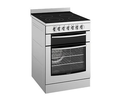 Westinghouse WFE647SA stainless steel 60cm freestanding cooker with ceramic hob