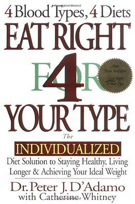 Eat Right 4 Your Type: The Individualized Diet Solution to Staying Healthy, Livi