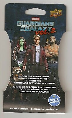 2017 UPPER DECK GOTG GUARDIANS OF THE GALAXY V2 Memorabilia Relic HOT PACK