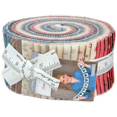 Patchwork/quilting Fabric Moda Jelly Roll - Sweet Blend Prints