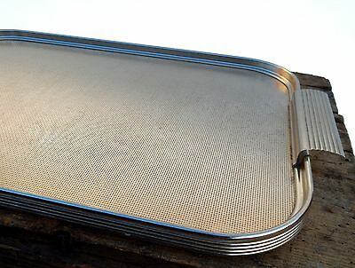 Vintage Retro 1960s Anodised Ware Tray Cocktail Drinks Serving Mid Century #C