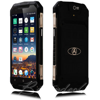 """New 8GB 5"""" Touch Dual SIM Shockproof Phone Smart Mobile CellPhone Unlocked 4Core"""
