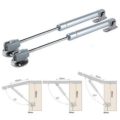 Lift Hydraulic Gas Strut Lid Stay Support Kitchen Cabinet Door Support Rod UK