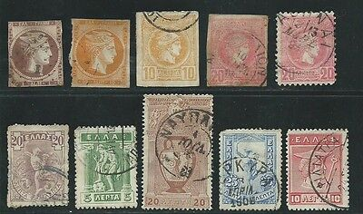 Greece ancient used 1861-1911