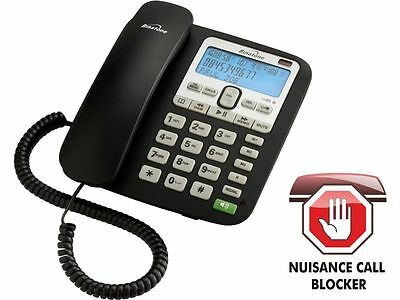 Binatone Acura Corded Telephone with Answer Machine Single RRP 29.99 lot MBGD