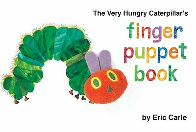 The Very Hungry Caterpillars Finger Puppet Book (The World of Eric Carle) by Er