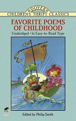Favorite Poems of Childhood (Dover Childrens Thrift Classics) by Philip Smith