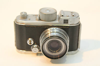 Vintage Berning Robot IIa Camera Chrome in Good Condition and Working