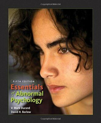 Essentials of Abnormal Psychology (with CD-ROM) by V. Mark Durand, David H. Barl