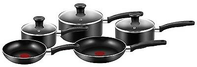 Tefal Essential Non-Stick  5 Pieces Cookware Saucepan Set