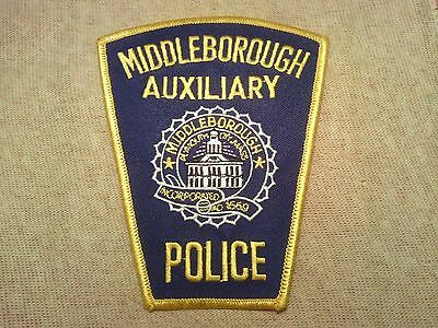 MA Middleborough Massachusetts Auxiliary Police Patch