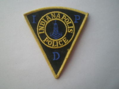 IN Indiana Capital City Indianapolis Police vintage patch