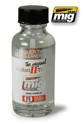 Alclad Ii Lacquer Thinner & Cleaner 8200 AMMO BY MIG JIMENEZ