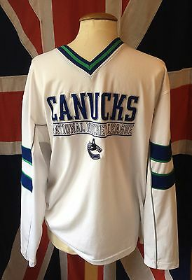 Canadian NHL Jersey Canucks Vancouver Ice Hockey VGC