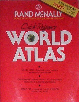 Quick Reference World Atlas With Map