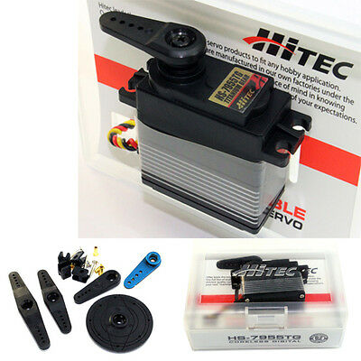Hitec HS-7955TG High Torque Titanium Gear Coreless Servo