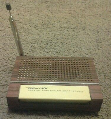 Realistic Crystal Controlled Weatheradio - Vintage Weather Radio