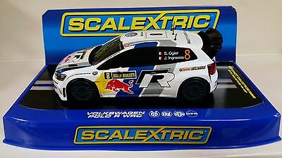 Scalextric Volkswagen Polo WRC C3525 New in Box