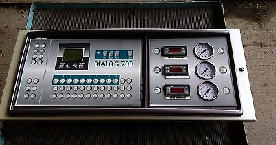 Union Drycleaning Machine Dialog 700 Control Panel