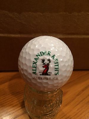 Alexander Keith's India Pale Ale, Beer Logo Golf Ball, Old Vintage