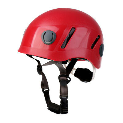 Adult Safety Helmet Head Protective Gear for Climbing Caving Rappelling