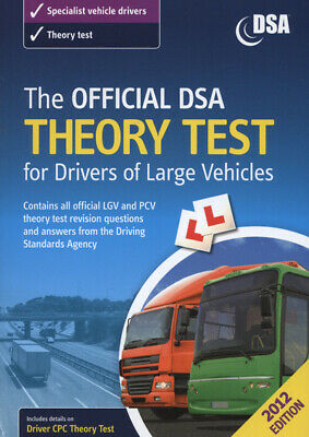 The official DSA theory test for drivers of large vehicles by Driving Standards