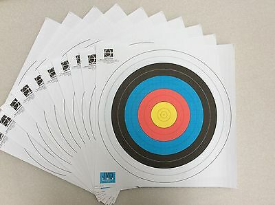 10x 80cm reinforced archery and crossbow target faces