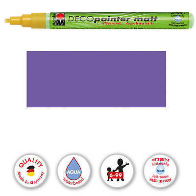 Marabu-Deco Painter 1-2,5mm Kalligrafie, Amethyst