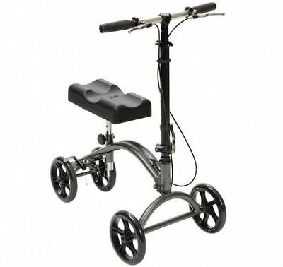Lightweight Steerable Wheeled Knee Walker Walking Frame Mobility Aid With Brakes