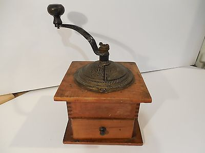 PRIMITIVE 1800's ARCADE IMPERIAL COFFEE GRINDER - COFFEE MILL - BOX MILL