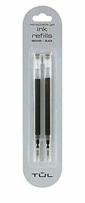 Tul Gel Pen refill 2-pack (fine black)