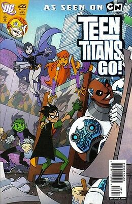 TEEN TITANS GO! #55 [First Series, Last issue]