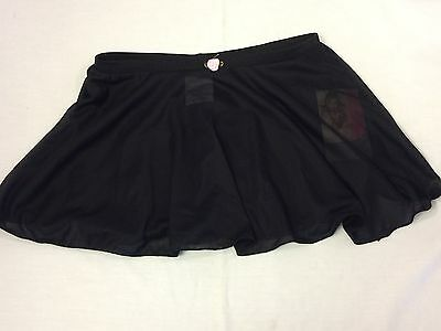 Danskin Ballet Dance Tutu, M 7/8 - Black; Excellent, New with tags
