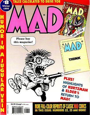 TALES CALCULATED TO DRIVE YOU MAD Magazine #8. Winter 1999 [Last issue]