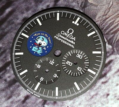 Special Offer 3578.51 Omega Speedmaster Snoopy Dial Limited Edition Moon Watch