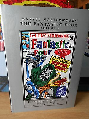 Marvel Masterworks: The Fantastic Four Volume 4 - Near Mint