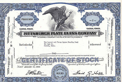 Pittsburgh Plate Glass Company-shares-1963