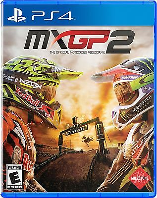 MXGP2 Motocross Video Game for Sony PlayStation 4, PS4, Used
