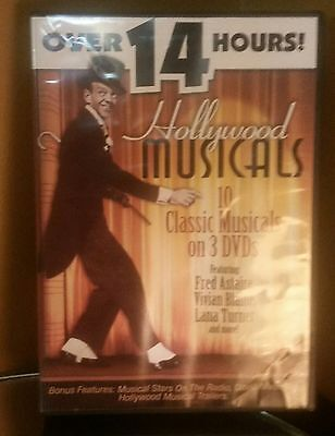 Hollywood musical dvds