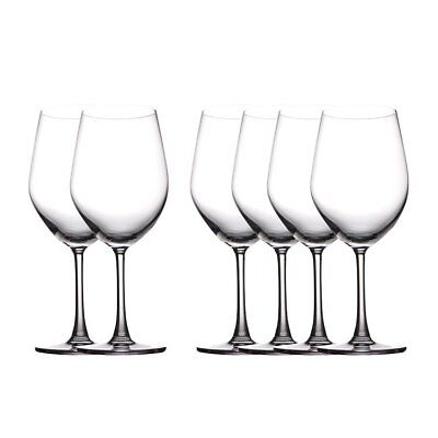 NEW Maxwell & Williams Cosmopolitan Bordeaux Glass 590ml Set of 6 (RRP $50)