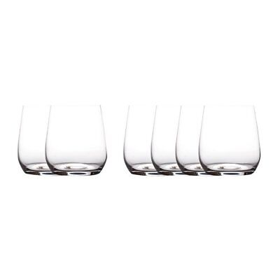 NEW Maxwell & Williams Cosmopolitan Stemless Wine Glass 455ml Set of 6 (RRP $35)