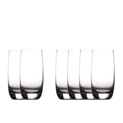 NEW Maxwell & Williams Cosmopolitan Hi-Ball Glass 430ml Set of 6 (RRP $35)