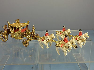 CRESCENT TOYS  MODEL No.1301  ROYAL  STATE COACH   & HORSES