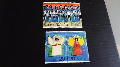 Nauru 1976 Sg 155-158 Christmas Used