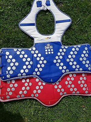 Set of Daedo Truescore Tae Kwon Do E-chest Chest guard Sparring Size 4
